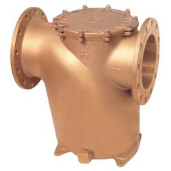 Flanged water strainer bronze - PN16 (Art 1281)